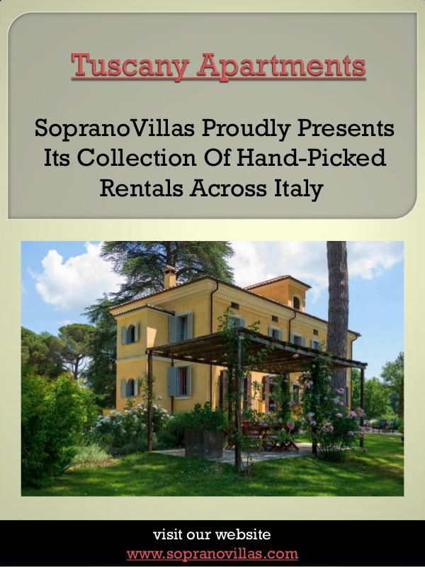 Lazio Italy Tuscany Apartments