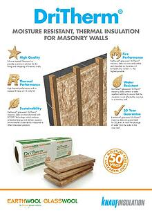 DriTherm® Thermal Insulation For Masonry Walls