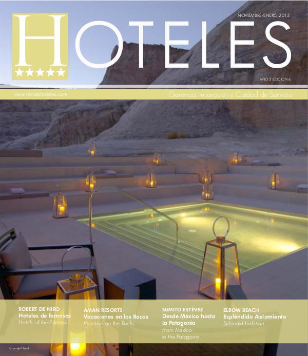 Revista HOTELES Revista HOTELES 6ta Edición