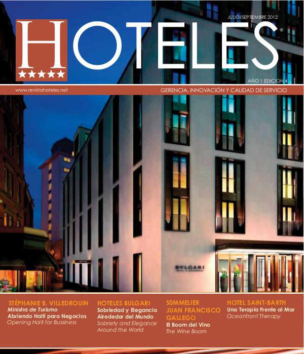 Revista HOTELES 4ta.