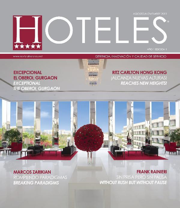 Revista HOTELES 1era Edición