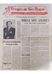 1956 Pregón de S. Roque-Areñes (Piloña Asturias)