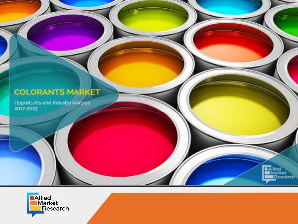 Colorants Market To Witness Phenomenal Growth by 2023 Colorants Market To Witness Phenomenal Growth