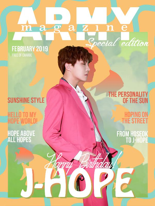 ARMY Magazine - Special Issues ARMY Magazine Hoseok Special Edition