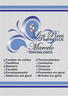 Catálogo Lizi Pires Impressos & Marcelo Personalizados