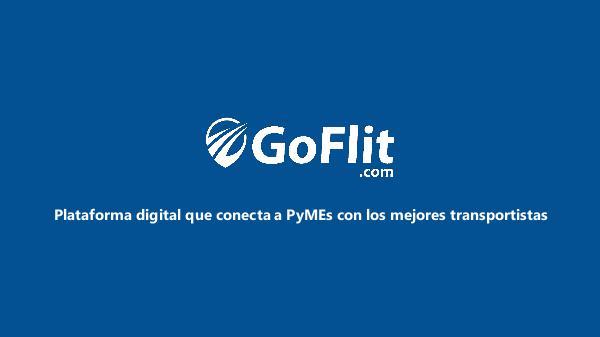 GoFlit.com GoFlit.com - Fletes Urgentes para la Industria