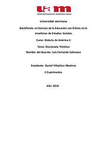Diccionario Pictórico