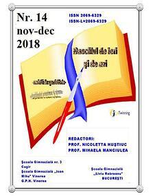 Dascalul 14 oct nov 2018