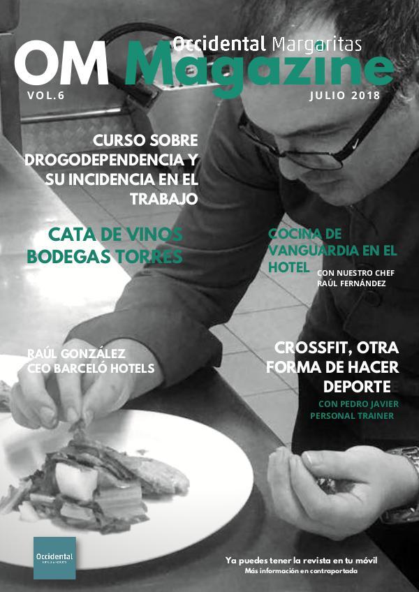 OMMagazine Julio 2018 OMMagazine Julio 2018