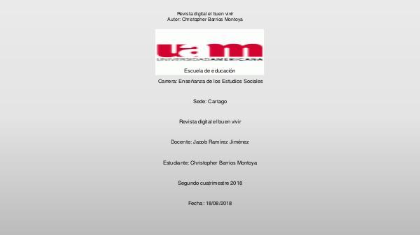 Revista problemática de CR Revista PDF