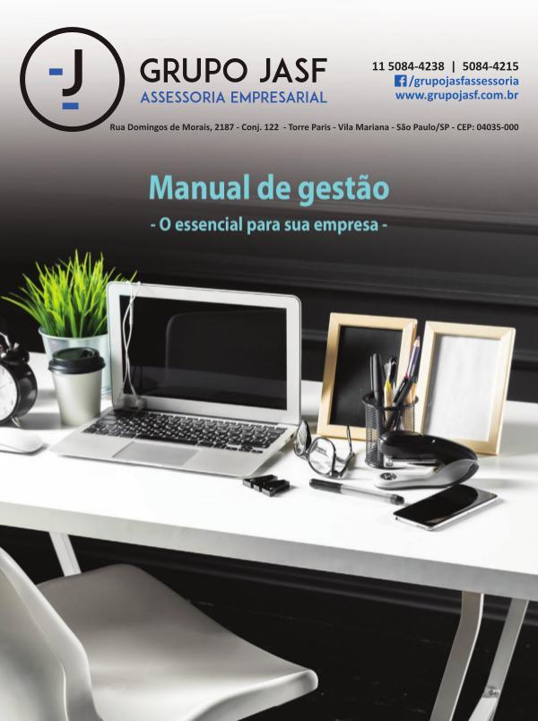 Manual de gestão - O essencial para sua empresa JASF Contabilidade