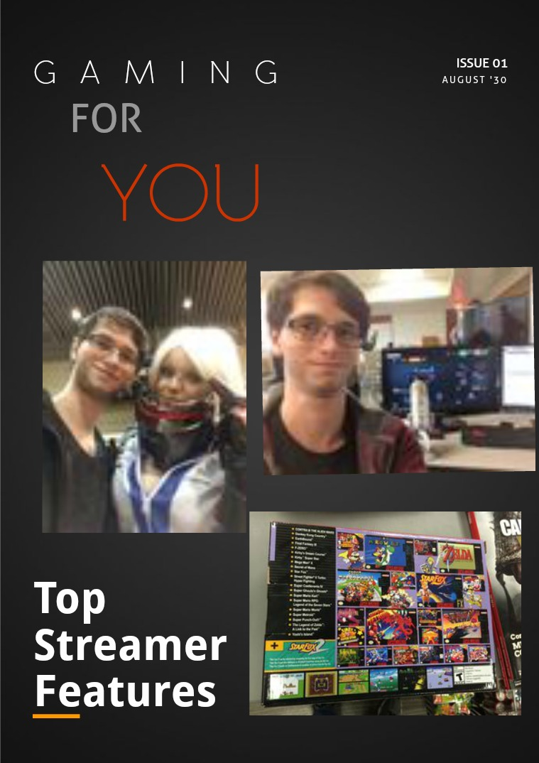 Gaming for You Volume 1.