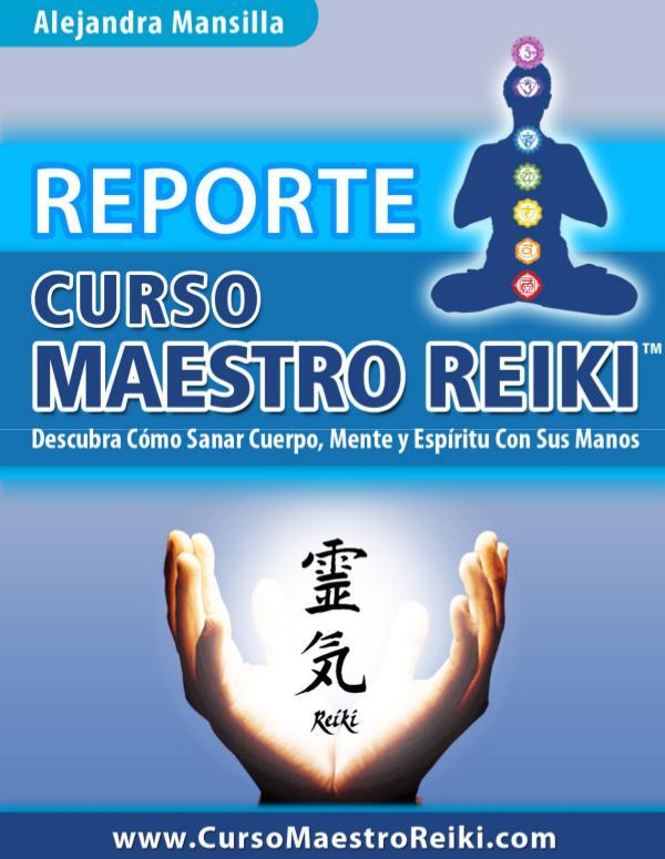Curso Maestro Reiki PDF, Gratis Descargar Alejandra Mansilla Curso Maestro Reiki Libro