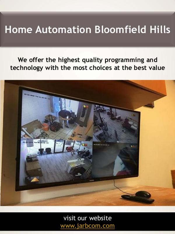 Home Automation Near Me Home Automation Bloomfield Hills | Call - 1-800-36