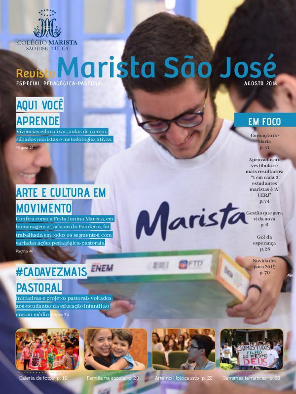 Revista especial Marista São José - Tijuca - 2018 - 1º semestre Revista especial Marista São José - Tijuca - 1º se
