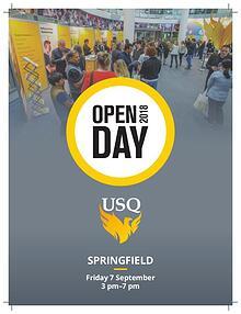 USQ-Springfield Open Day Program 2018
