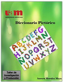 Diccionario Pictórico Taller de Investigación