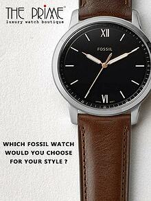 Which Fossil Watch Would You Choose For Your Style?