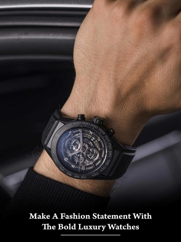 Make A Fashion Statement With the Bold Luxury Watches Make Fashion Statement With the Bold Luxury Watch