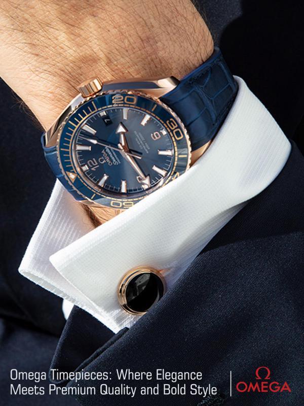 Omega Timepiece:  Where Elegance Meets Premium Quality and Bold Style Omega Timepieces-  Where Elegance Meets Premium Qu