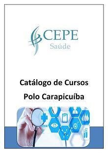 Catálogo de Cursos - Polo Carapicuíba