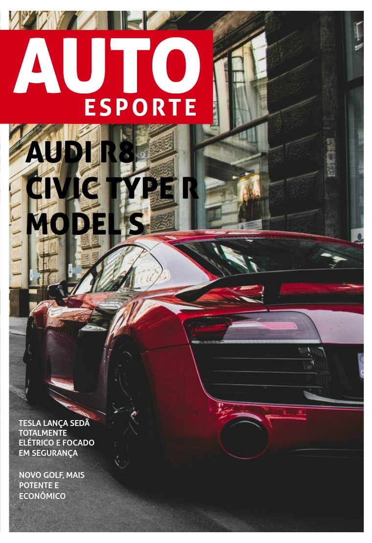 Auto Esporte - Revista Gabriel Campos 1