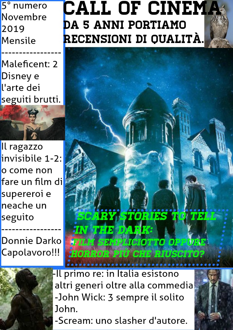 Call of Cinema #5 Numero 1° del 5° anno