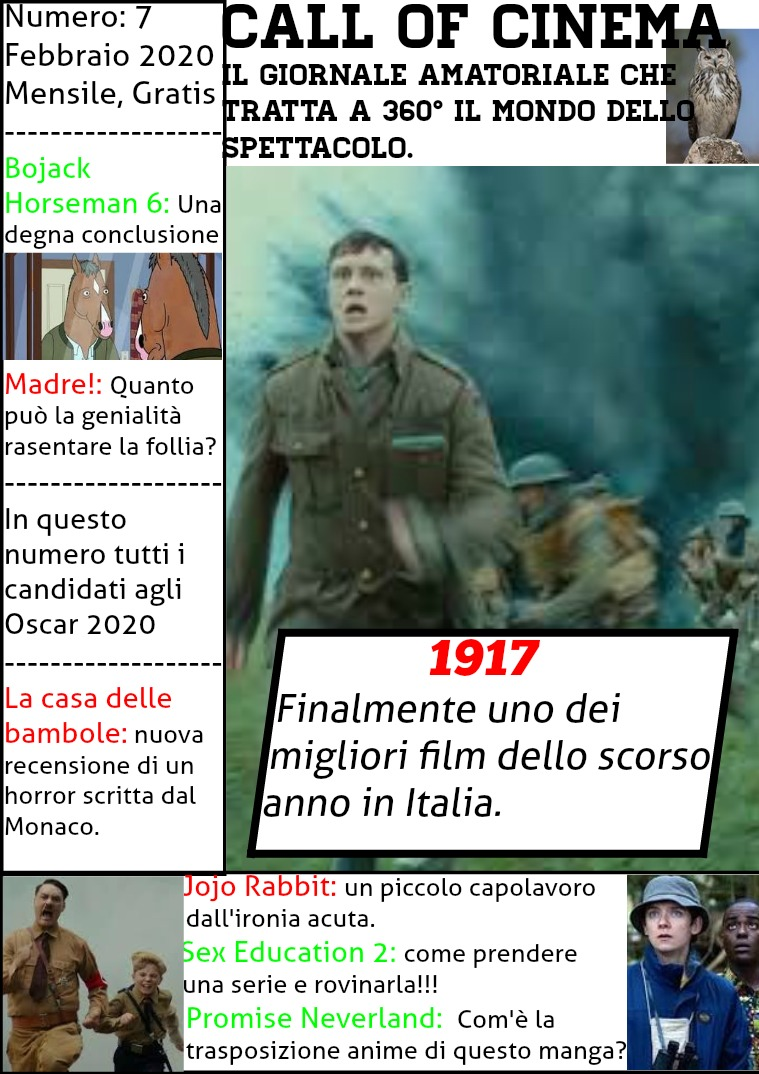 Call of Cinema #7 Numero 7