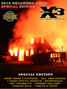 PaintballX3 Magazine 2013 Oklahoma D-Day Special Edition