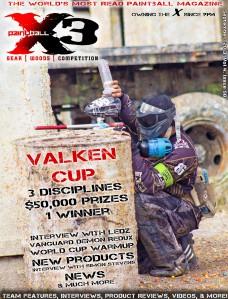 PaintballX3 Magazine September 2013