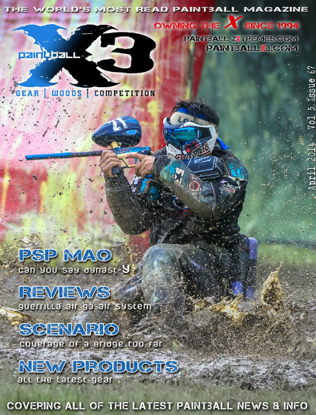 PaintballX3 Magazine May 2014