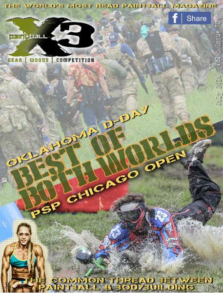 PaintballX3 Magazine July 2014 Issue