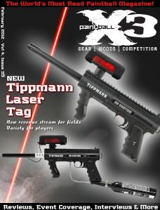 PaintballX3 Magazine PaintballX3 Magazine, Febuary 2012