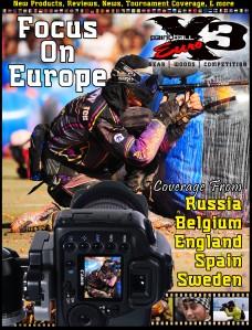PaintballX3 Magazine PaintballX3 Euro January 2012 Isssue
