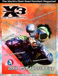PaintballX3 Magazine PaintballX3 Magazine November 2011 Issue