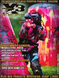 PaintballX3 Magazine PaintballX3 EURO July 2012