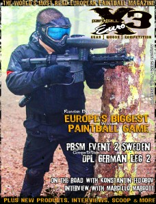 PaintballX3 Magazine Paintball X3 Euro August 2012