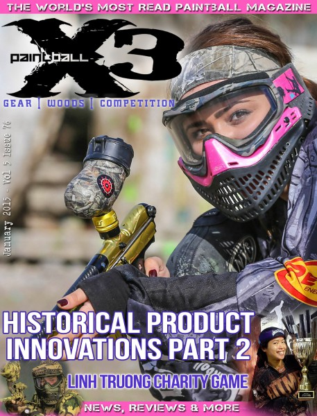 PaintballX3 Magazine January 2015
