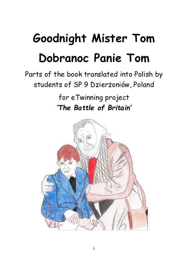 Goodnight Mister Tom Polish translation Goodnight Mister Tom in Polish chapters 8 & 9