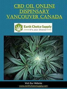 Cbd Oil Online Dispensary Vancouver Canada | earthchoicesupply.com