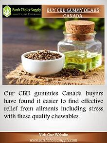 Buy CBD Gummy Bears Canada