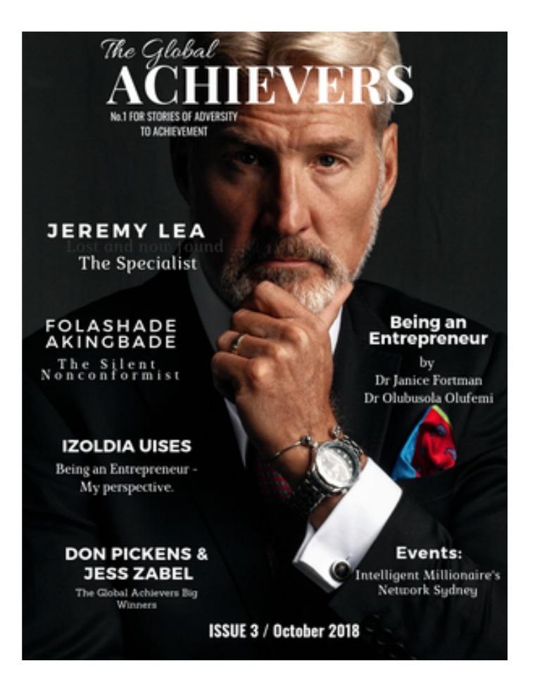 The Global Achievers The Global Achievers / Issue 2