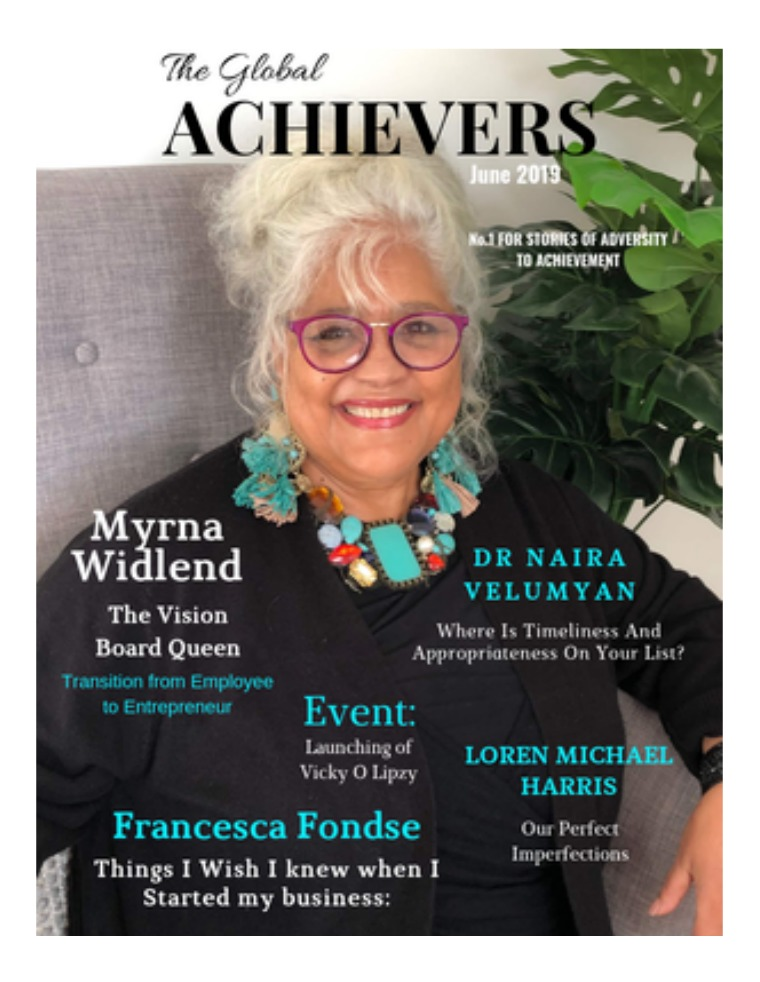The Global Achievers The Global Achievers / June Issue