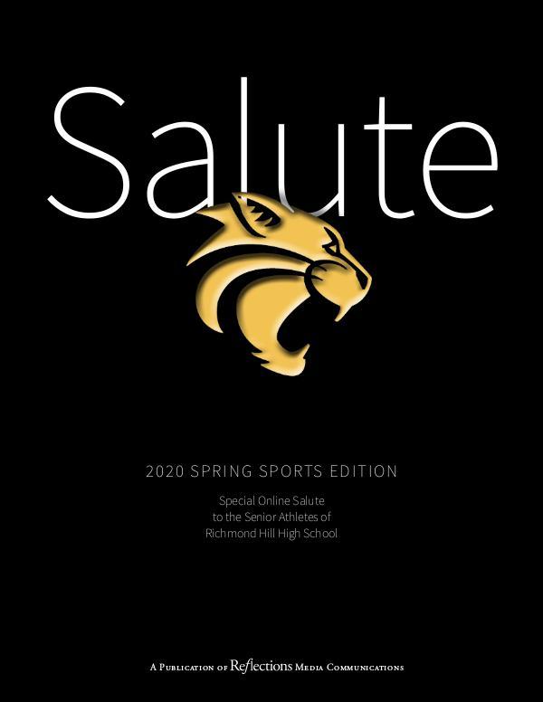 Special Online Edition   Senior Spring Athletes