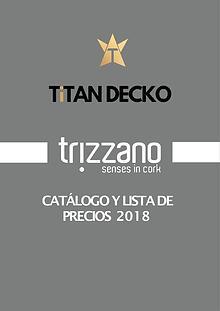 CATÁLOGO Y LISTA DE PRECIOS - TRIZZANO - DETAL 2018