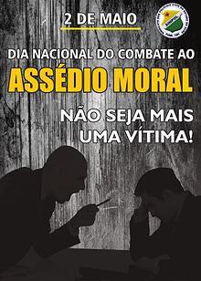 CARTILHA SOBRE O ASSÉDIO MORAL DENTRO DA POLÍCIA CIVIL