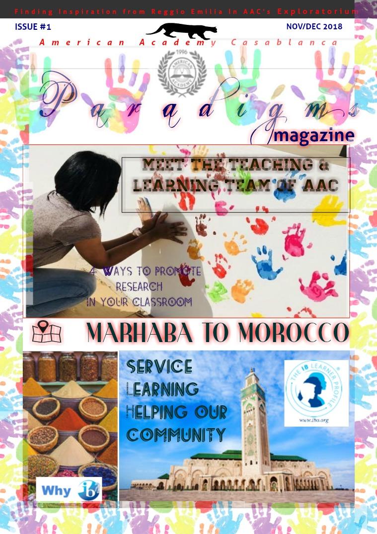 Paradigms Volume 1 Issue 1