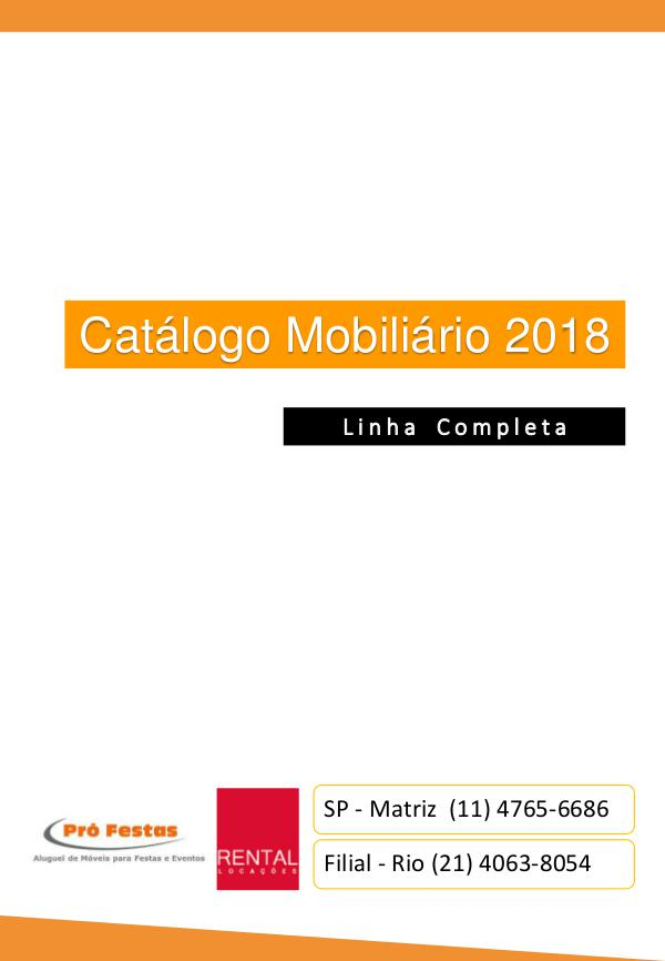 Catálogo 2018 Rental Profestas out.2018