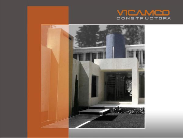 PORTAFOLIO - VICAMCO CONSTRUCTORA PORTAFOLIO VICAMCO