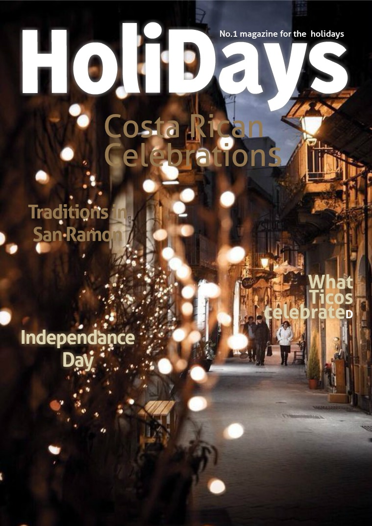 My first Magazine Holidays in Costa Rica